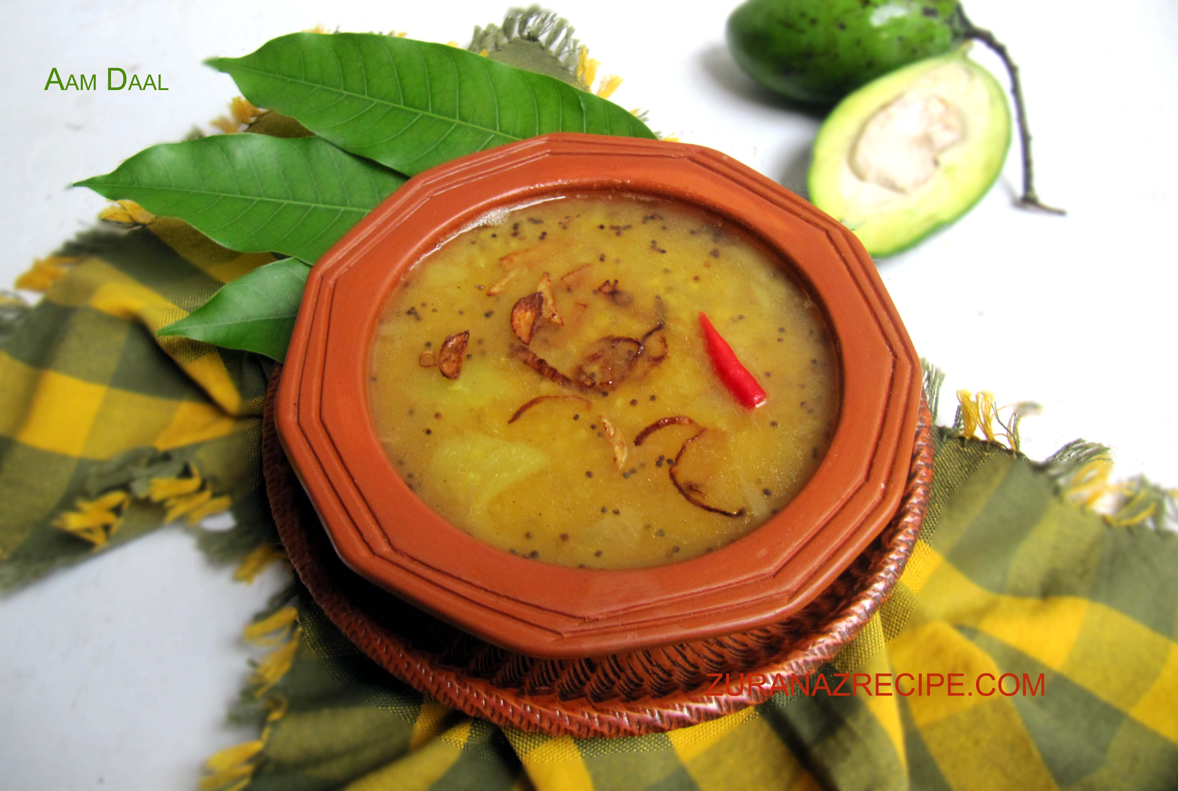 Palong Shak Daal/Daal Palong/Spinach Daal – Bangla