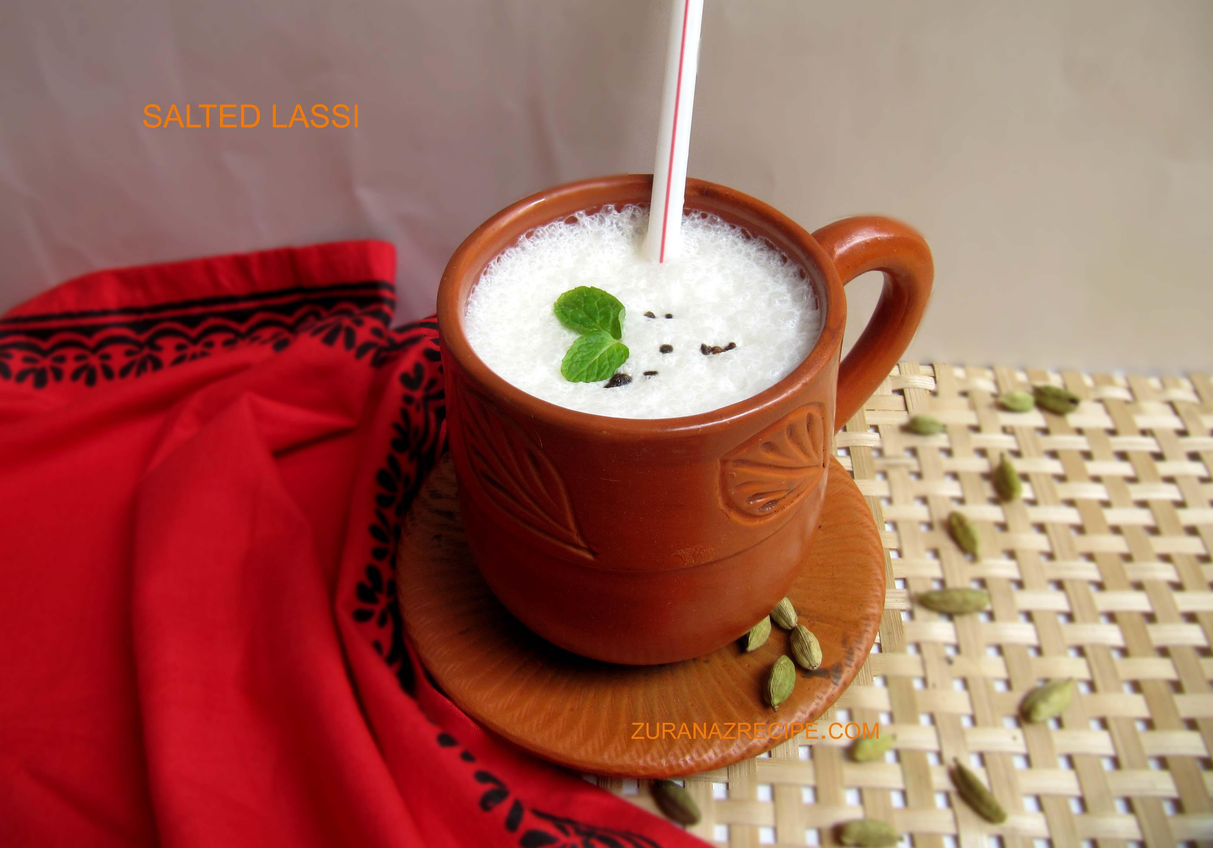 Salted Lassi/Salted Yogurt Drinks