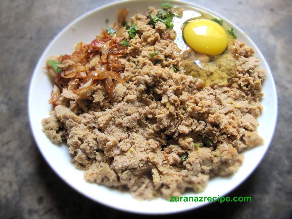 shami kabab-Bangladeshi Recipe.,.e