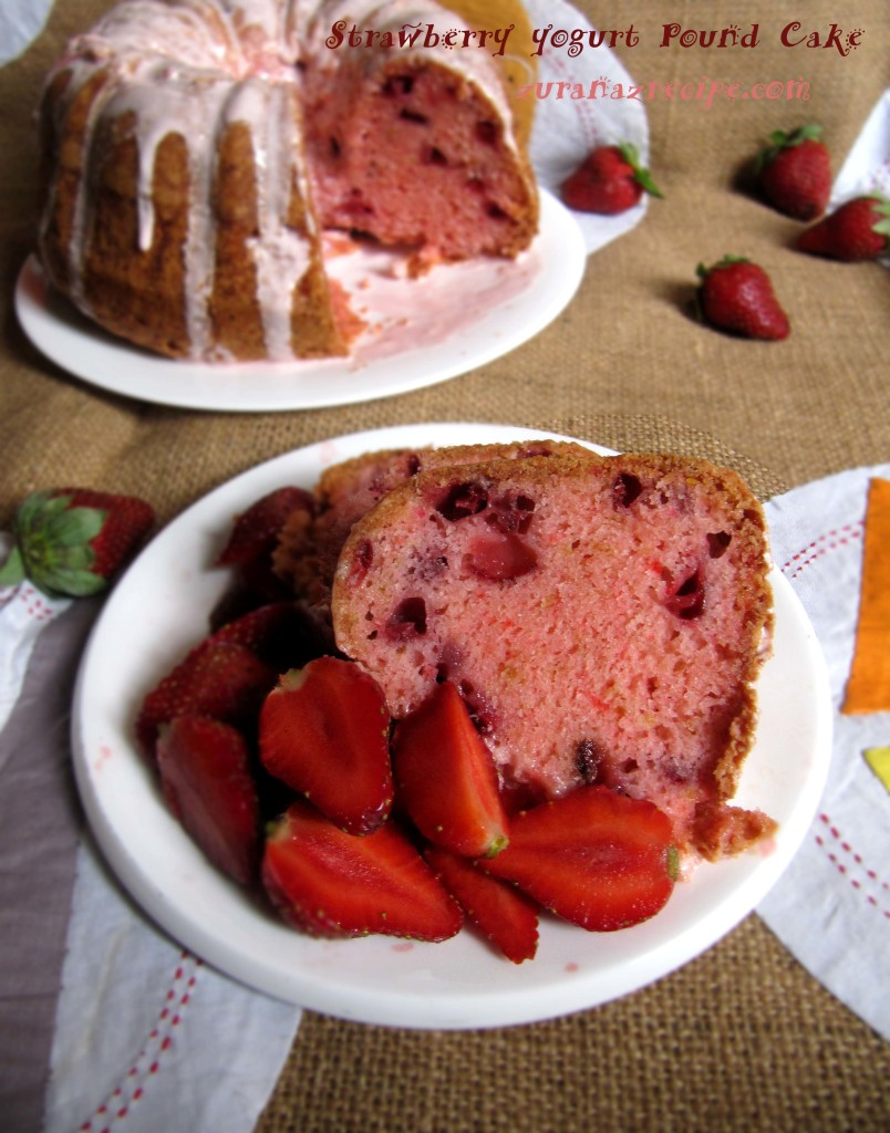 Strawberry-Yogurt Pound Cake