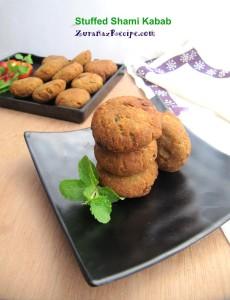 Stuffed Shami Kabab ZuranazRecipe.com