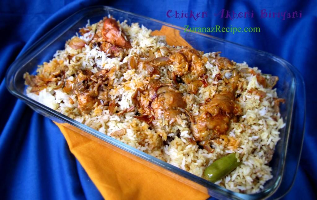 Chicken Akhoni Biriyani