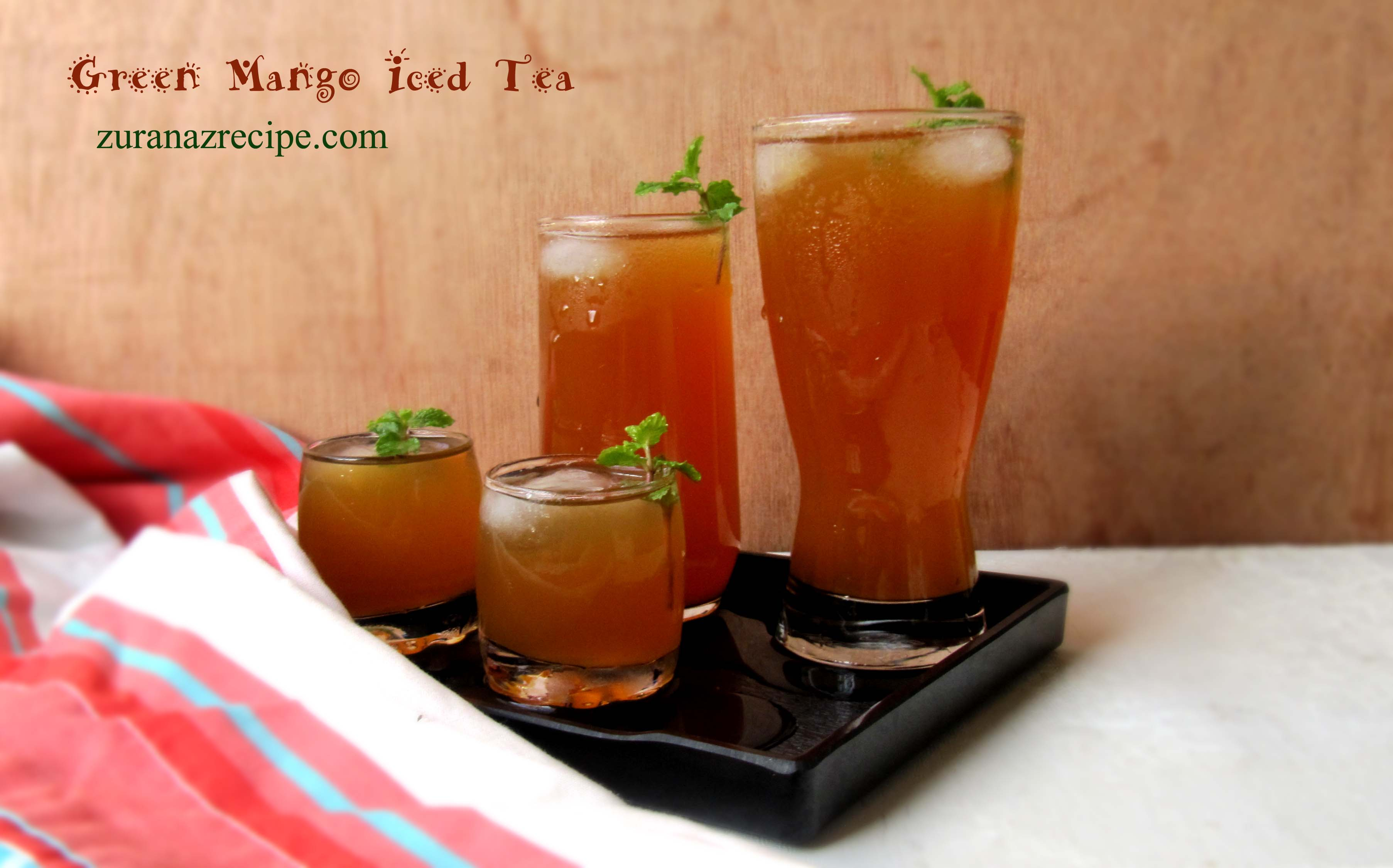 Green Mango Iced Tea