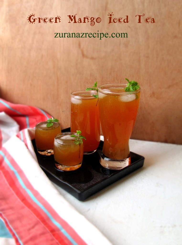 Green Mango Iced Tea