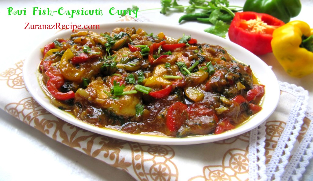 Rui Fish-Capsicum Curry