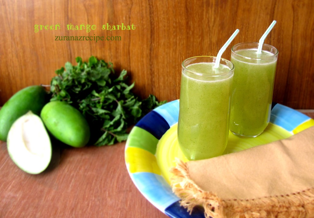 Kacha Aamer Sharbat/Green Mango Juice