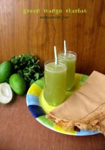 Kacha Aamer Sharbat/Green Mango Juice