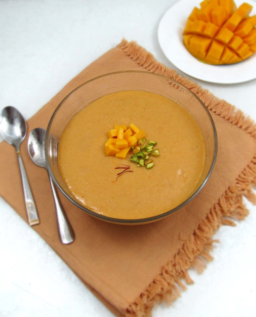 Aam Doi-Mango Sweet Yogurt