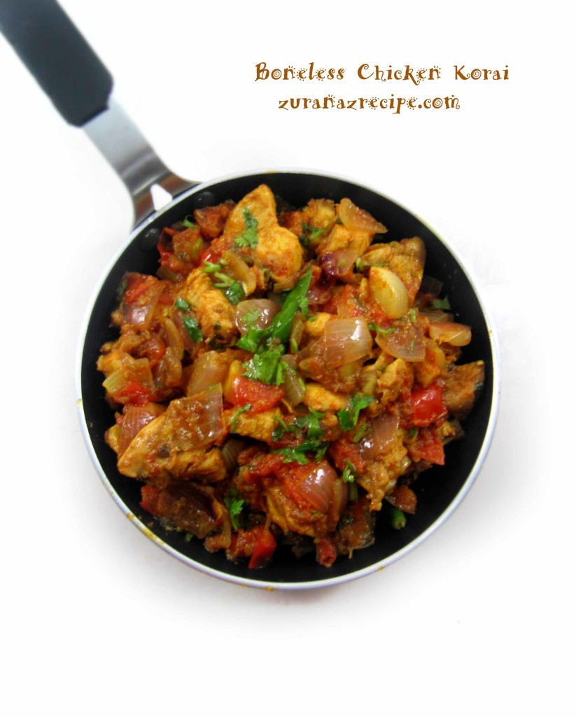 Boneless Chicken Korai