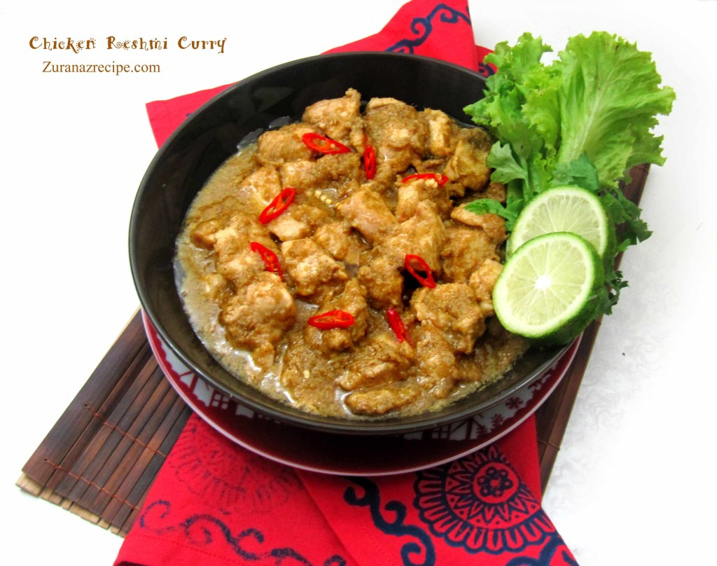 Chicken Reshmi Curry