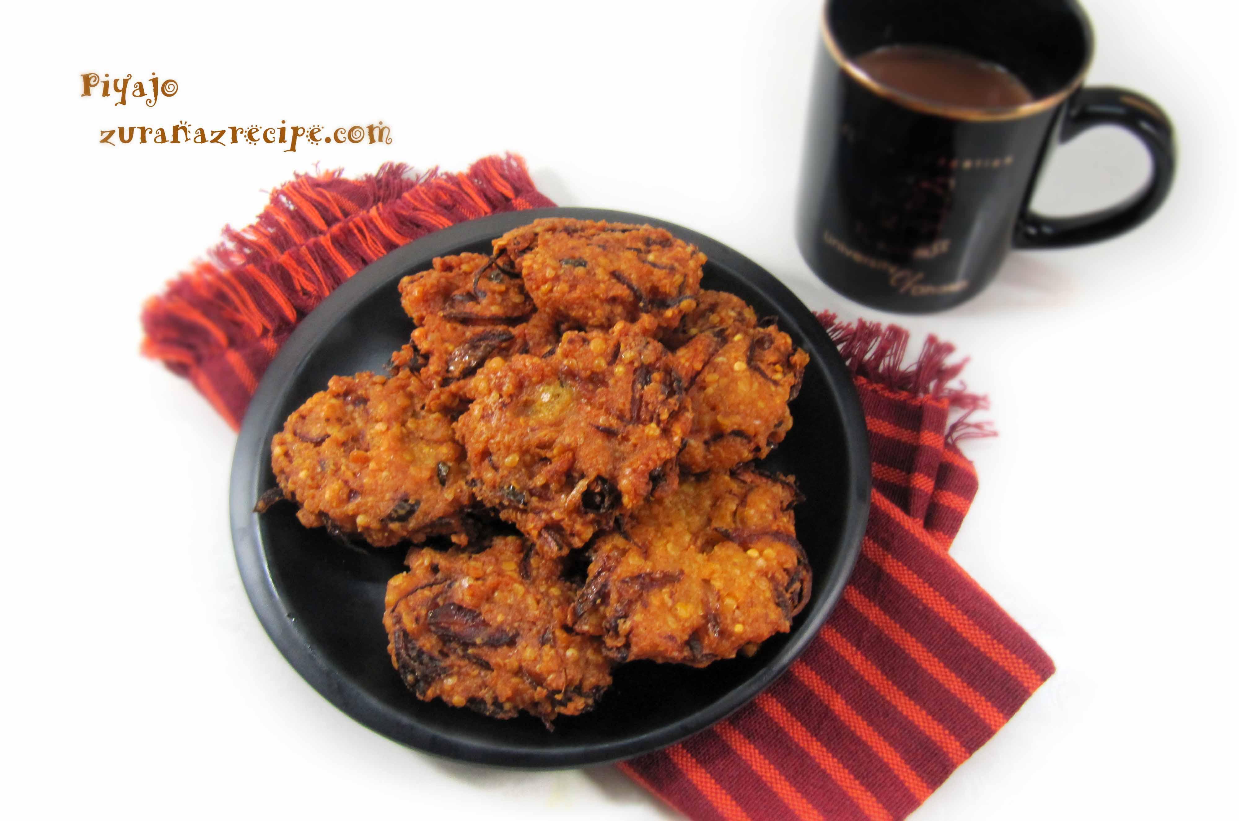 Piyaju – Lentil Fritters