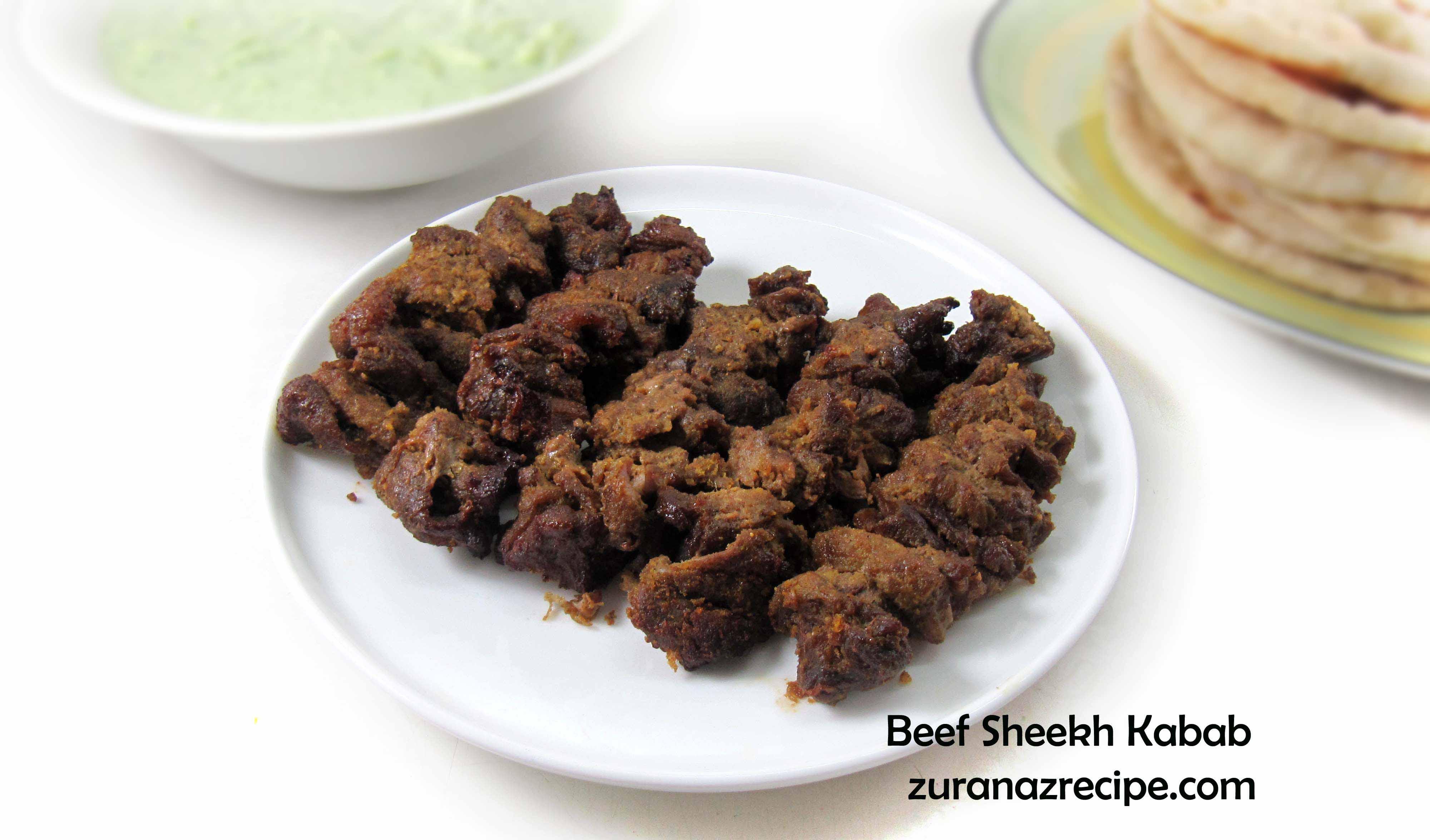 Beef Sheekh Kabab