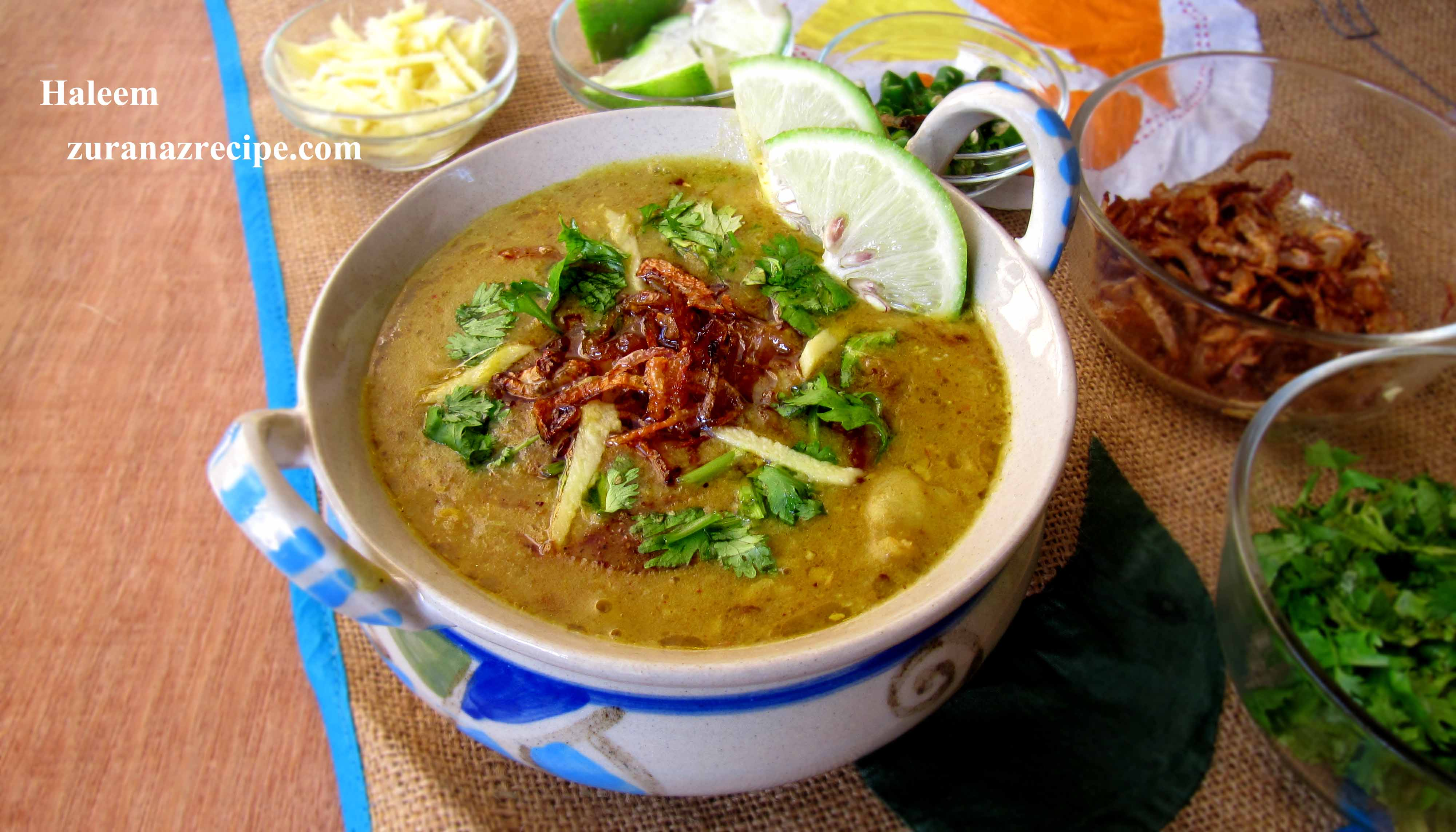 Haleem/How to make & serve haleem in Bangladesh