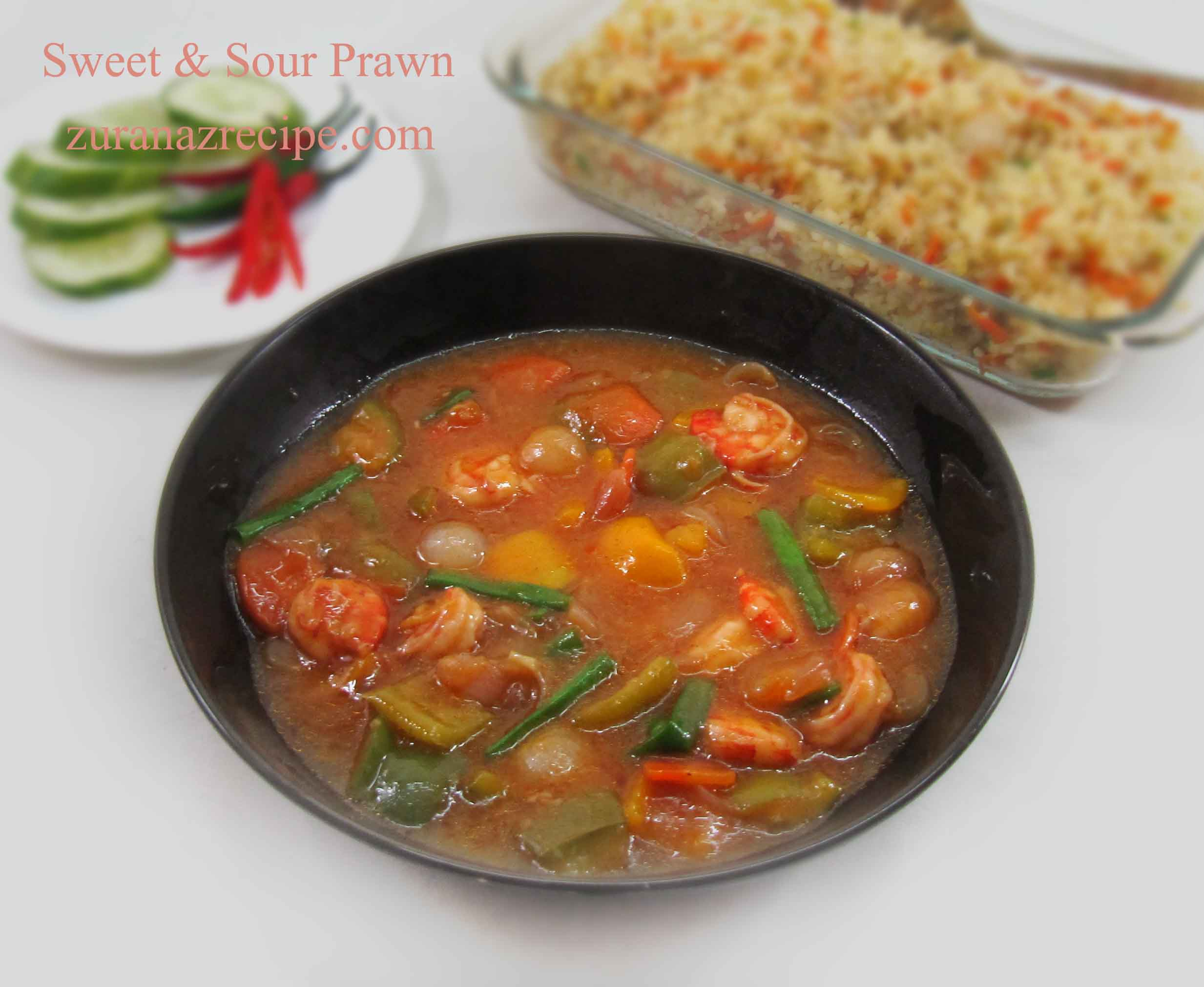 Sweet & Sour Prawn