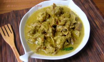 Zafrani Mutton Korma