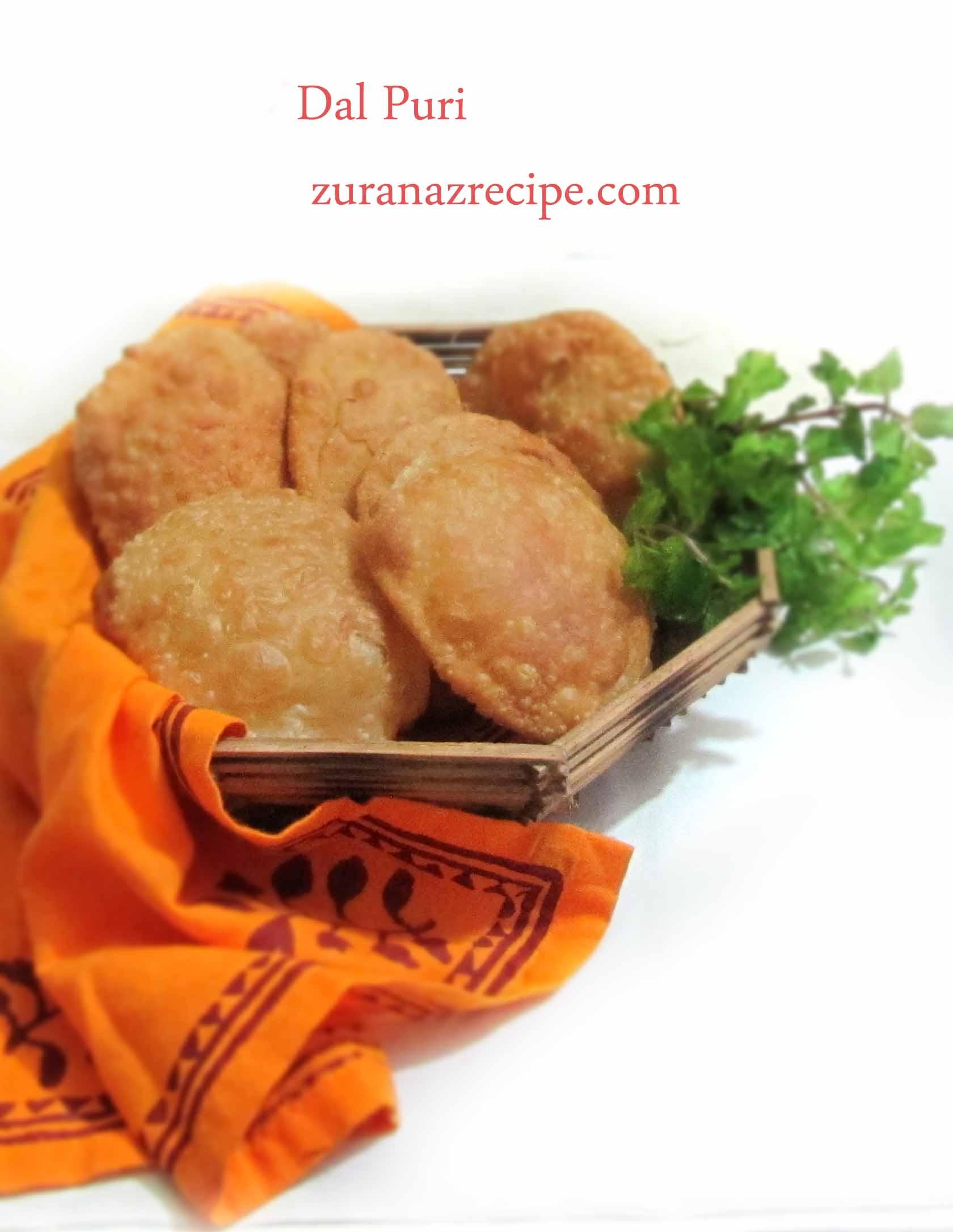 Dal Puri – Bangladeshi dal puri recipe