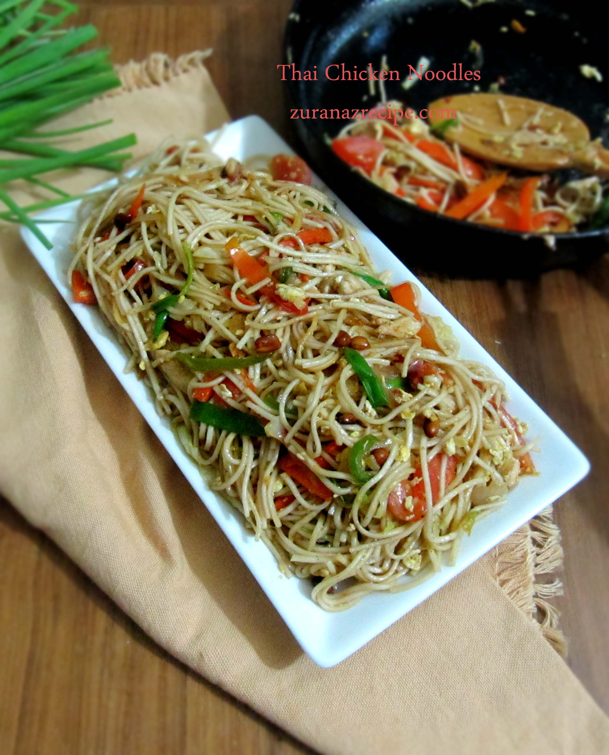 Thai chicken noodles bangla bangladeshi bengali food recipes forumfinder Image collections