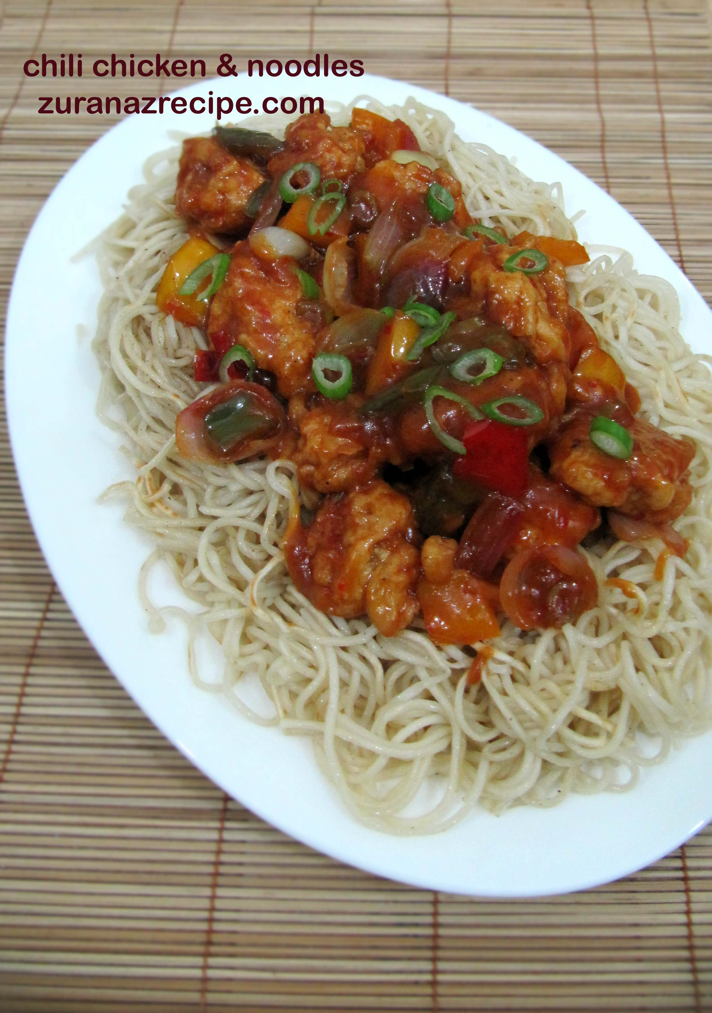 Chili chicken fried noodles chinese chili chicken noodles chili chicken fried noodles chinese chili chicken noodles recipe video forumfinder Images