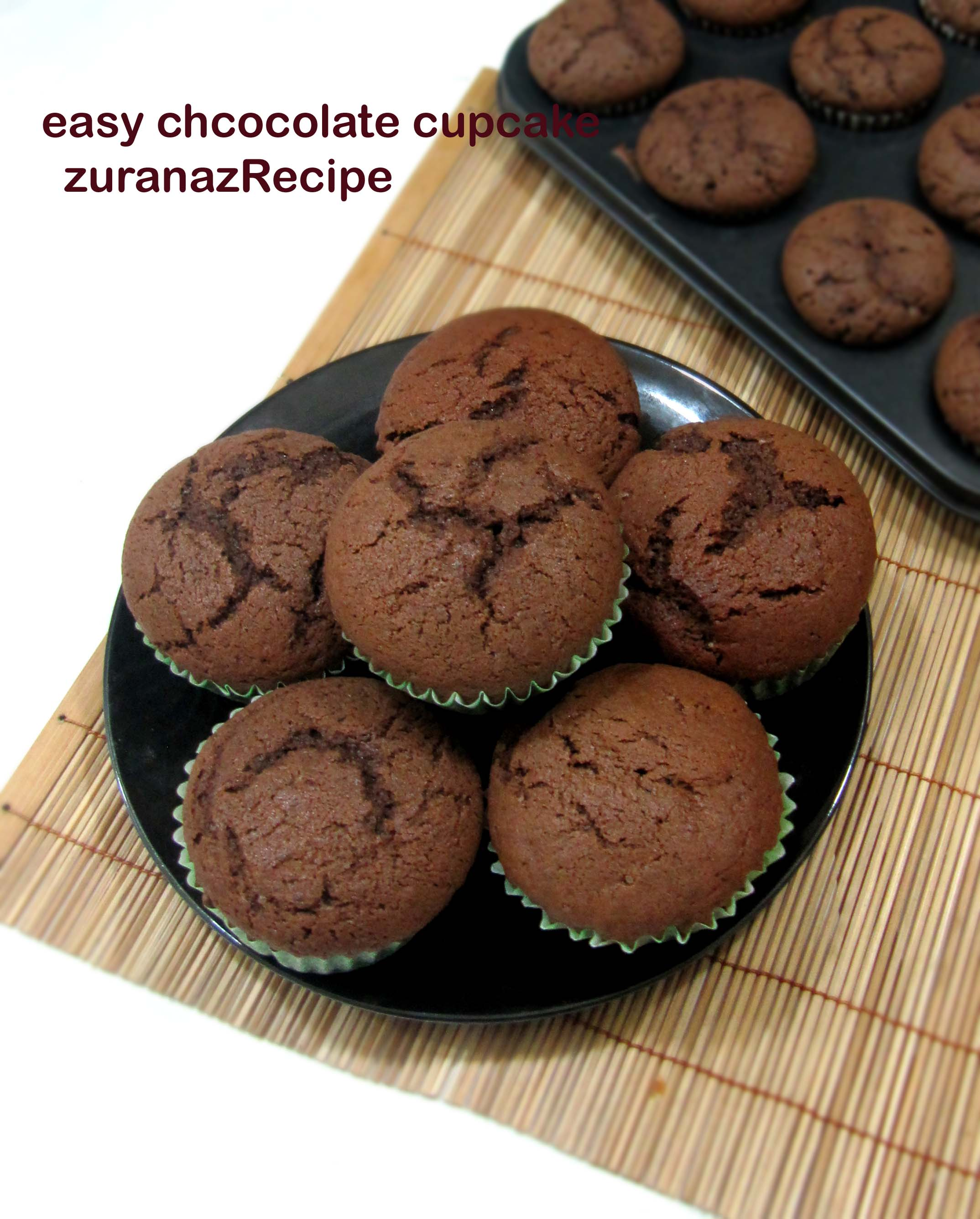 Easy Chocolate Cupcake Recipe Homemade Chocolate Cupcake Discover Modern Selected Recipes