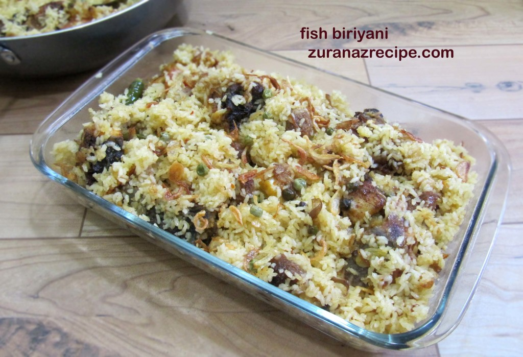 fish biriyani recipe || rui macher biriyani || rui fish biriyani recipe