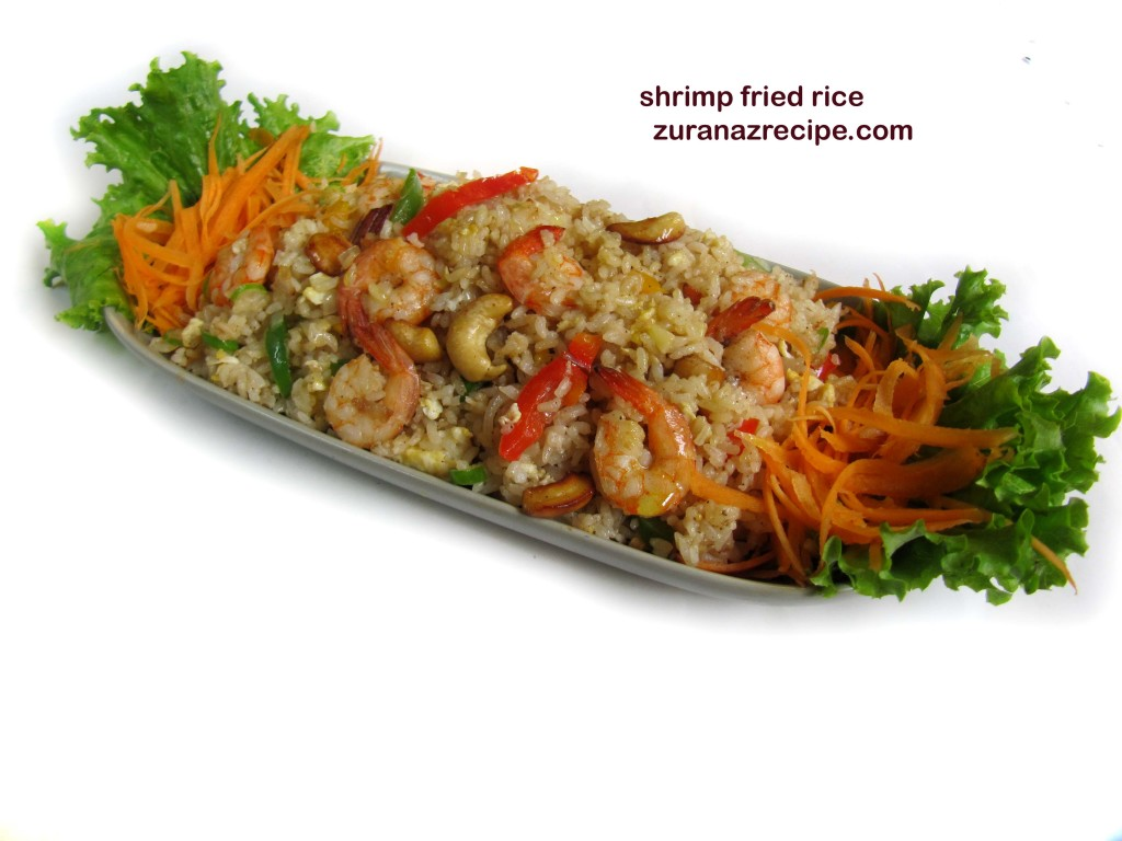 srimp fried rice zuranazrecipe