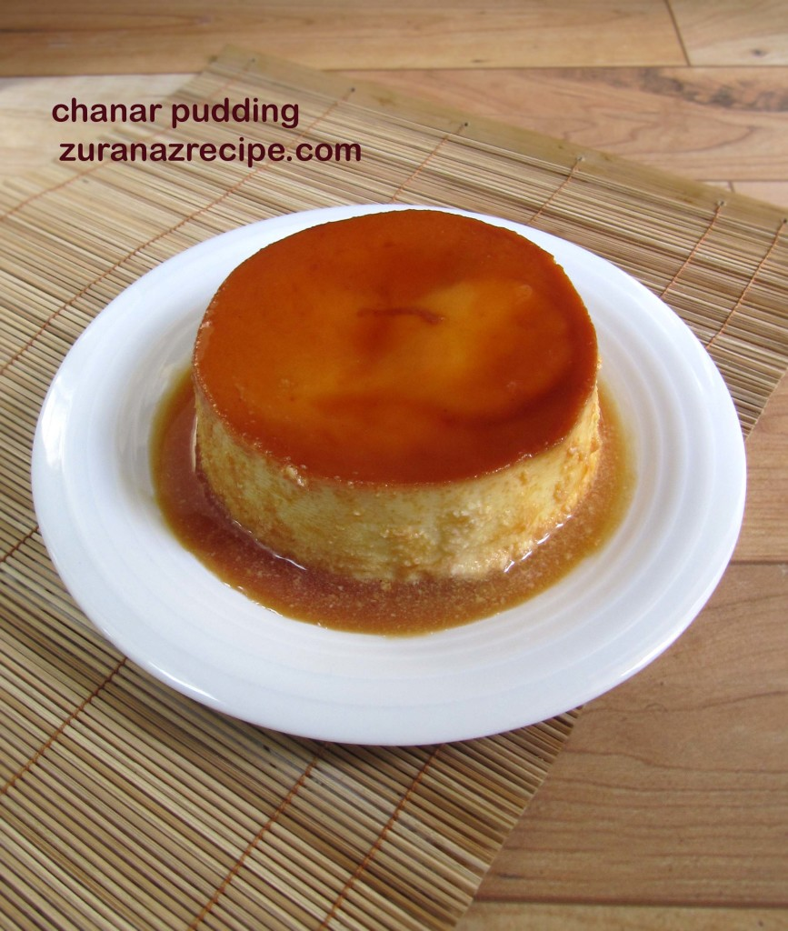 Recipe For Custard Cake Pudding