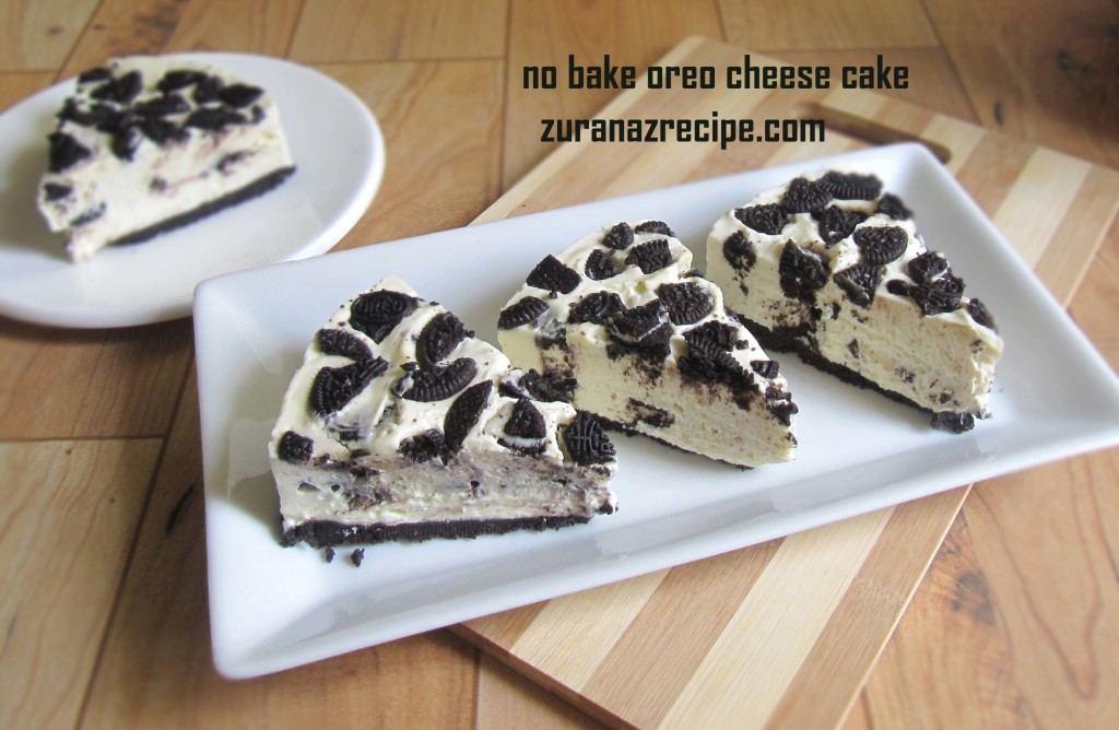 no bake oreo cheese cake