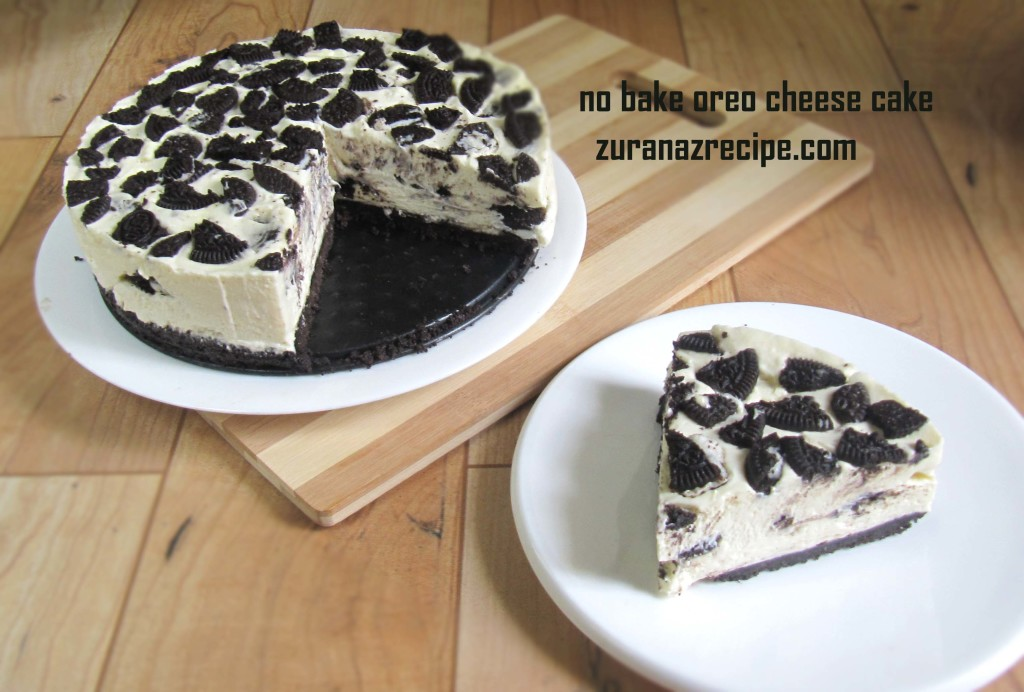 no bake oreo cheese cake4