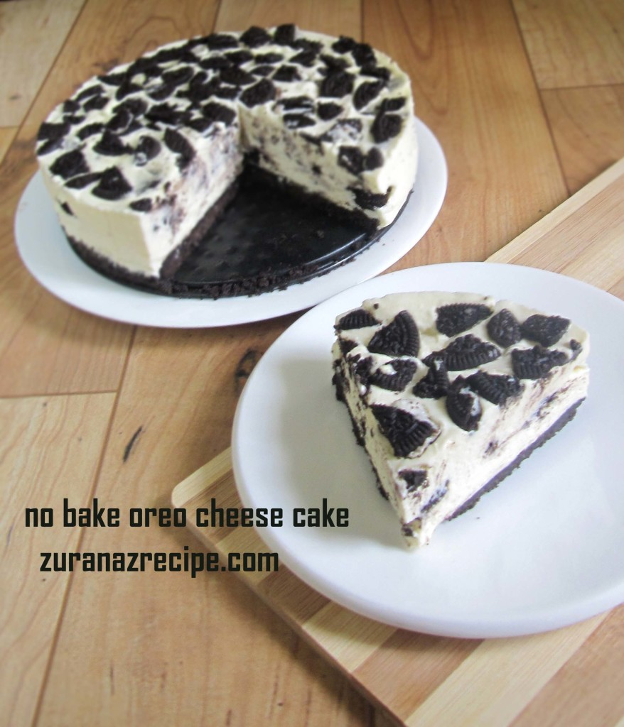 no bake oreo cheese cake5