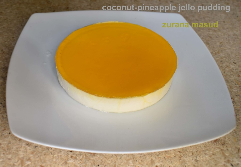 coconut pineapple jello pudding d